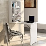Mitcham Floating Desk With Hutch