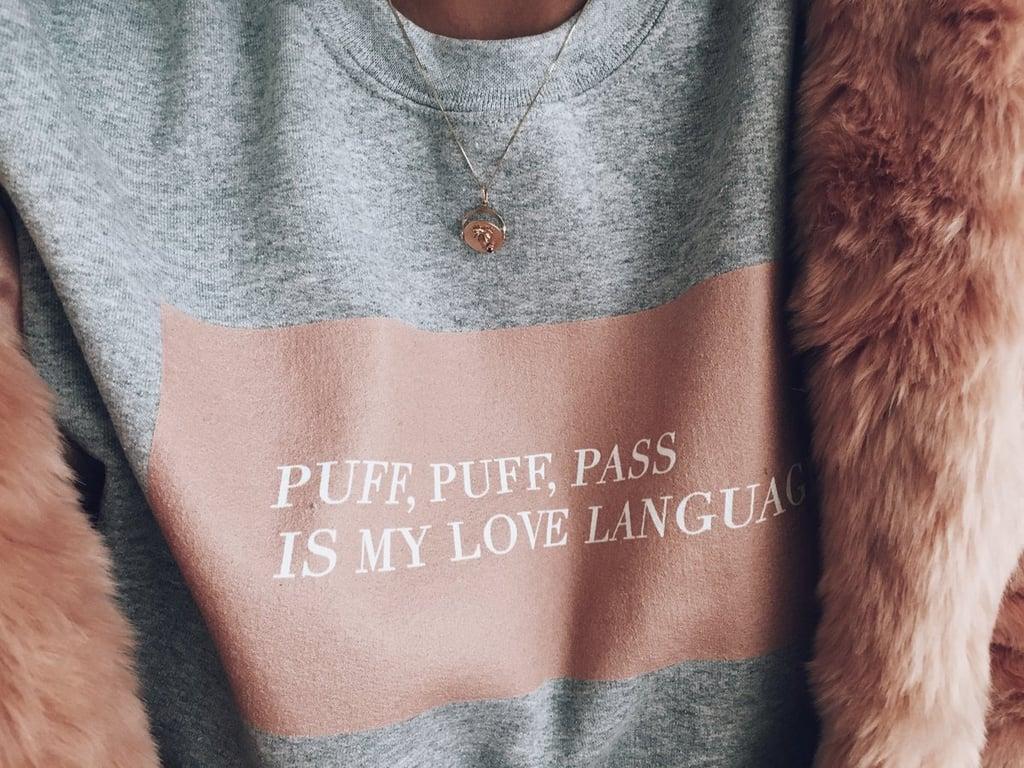Love Language sweatshirt