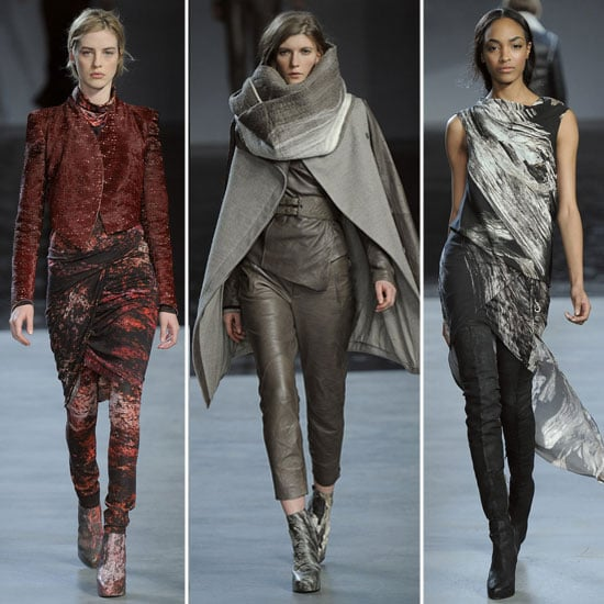 Pictures and Review of Helmut Lang Fall 2012 New York Fashion Week Catwalk Show