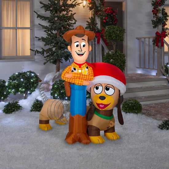 Toy Story Woody and Slinky Holiday Inflatable at Home Depot