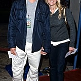 The pair showed sweet PDA at the Road Trip premiere in May 2000.