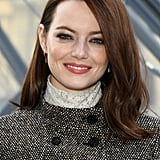 Emma Stone's Blown Out Lob
