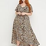 Beauticurve Animal-Print Maxi Dress