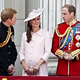 With the Duchess's rumored due date just days away, the royal family is preparing for the royal baby's birth. While Kate Middleton is staying at Nottingham Cottage on the grounds of London's Kensington Palace, Prince William is continuing with his usual work duties.