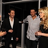 Jessica Lowndes, Matthew Morrison, Tony Romo, Candice Crawford