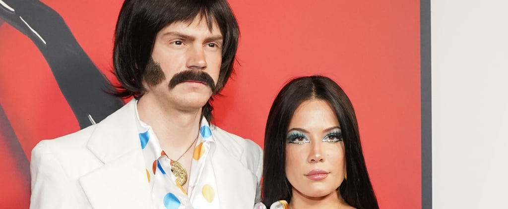 Halsey and Evan Peters Halloween Makeup 2019