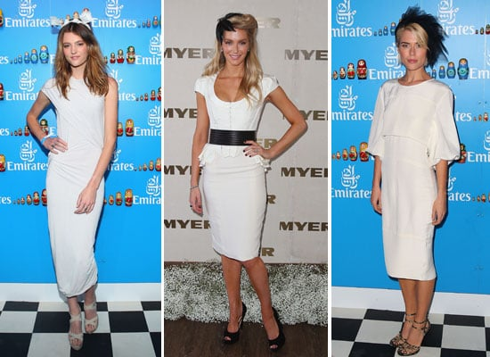 Pictures of Celebrities at Derby Day In Melbourne, Including Jennifer Hawkins, Montana Cox, Rachael Taylor and Dita Von Teese