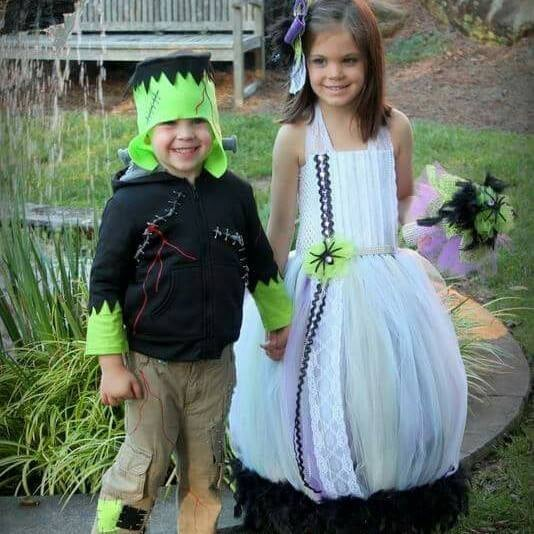 coordinating sibling costumes for halloween popsugar moms - Matching Girl Halloween Costume Ideas