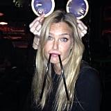 Bar Refaeli channeled Mickey Mouse, but also a walrus? Source: Instagram user barrefaeli