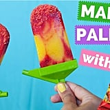 Mango Paletas With Hot Cheetos