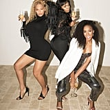 Serving Up a Major Look With Destiny's Child