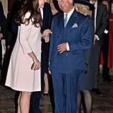 The duo looked thrilled to see each other in 2015, when Kate was pregnant with Princess Charlotte.