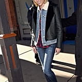 Brooklyn Decker headed out in Park City, UT, for the Sundance Film Festival on Monday.