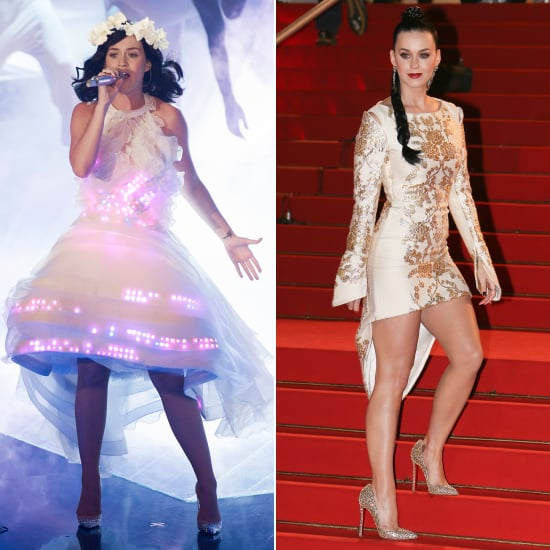 Katy Perry The Voice Germany and NRJ Awards Outfits