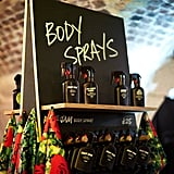Rose Jam and Love Body Sprays