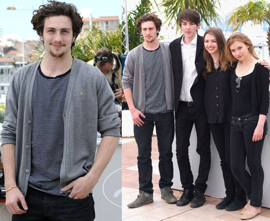 Pictures of Aaron Johnson, Hannah Murray, Imogen Poots and Matthew Beard at Chatroom Cannes Film Festival 2010 Photocall