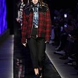 Kendall Jenner at Milan Men's Fashion Week