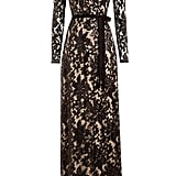Diane von Furstenberg Sequin Embellished Floor-Length Gown With Lace ($1,225)