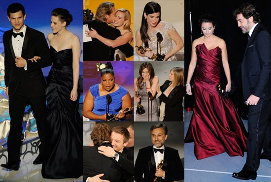 Photos of the 2010 Oscar Ceremony Including Sandra Bullock, Kristen Stewart, Mo'Nique, and More 2010-03-08 00:53:47