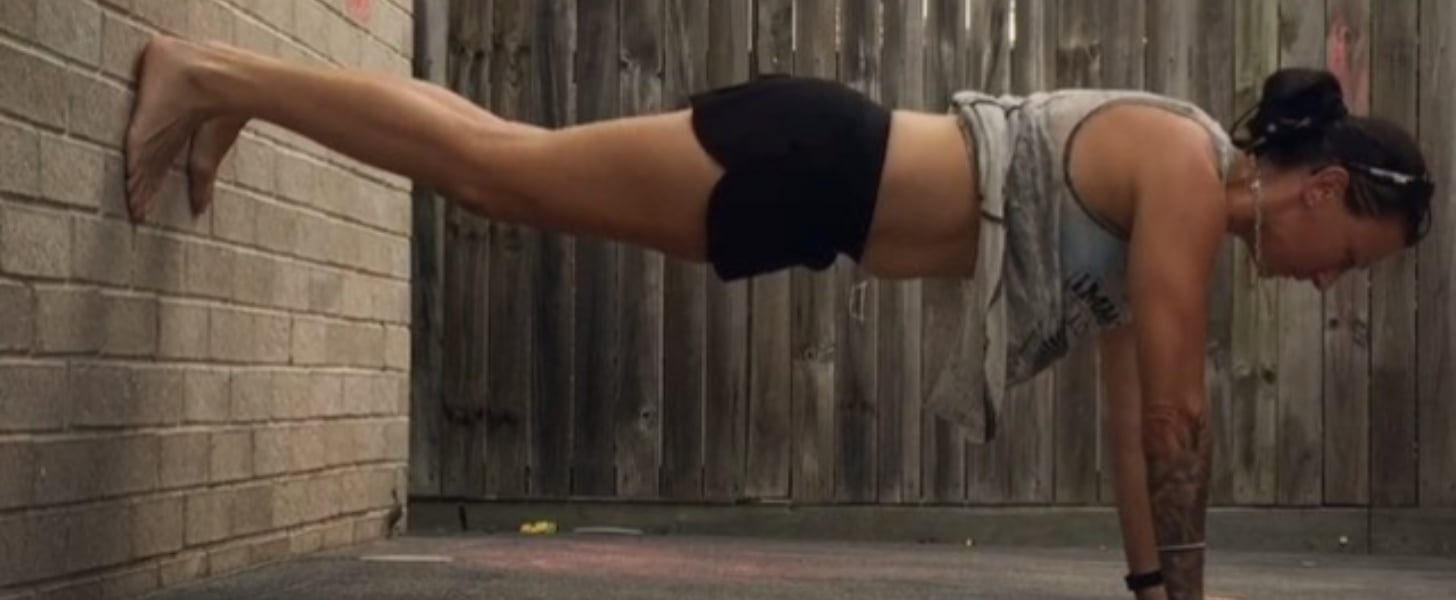 Workouts Using a Wall