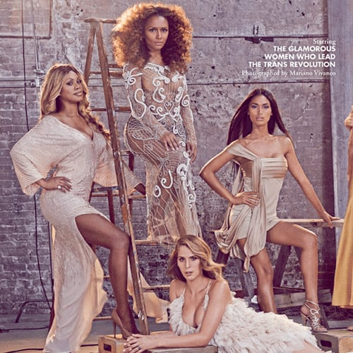 Laverne Cox Appears on Candy Magazine's All-Transgender Cover