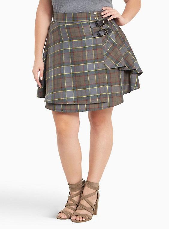 Torrid Fraser Tartan Plaid Skirt