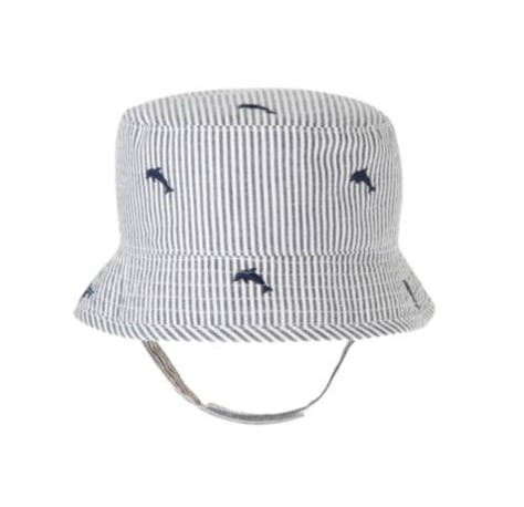 Janie and Jack Dolphin Stripe Seersucker Hat ($19)