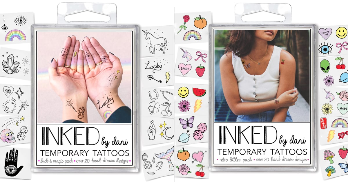 These Temporary Tattoos Will Take Your Halloween Costume to a Whole New Level