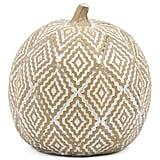 Textured Resin Pumpkin