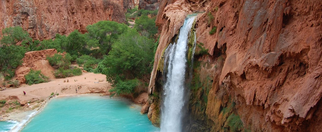 People Are Flipping Out Over This Magical Secret Grand Canyon Waterfall