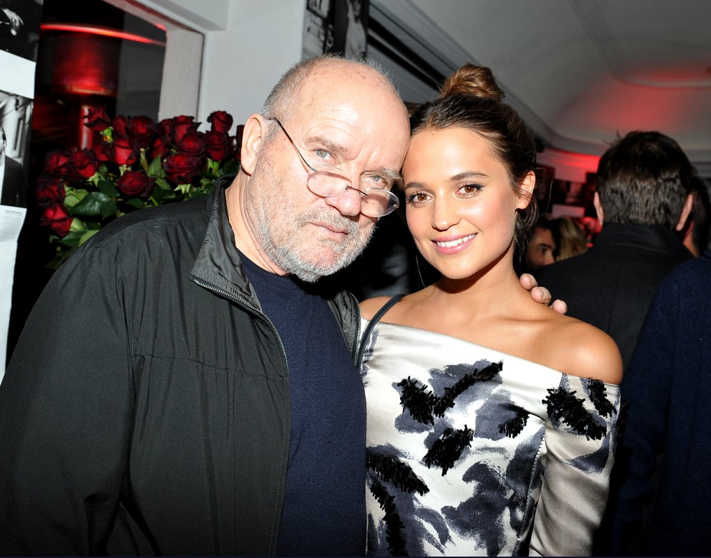 Pictured: Alicia Vikander and Peter Lindbergh