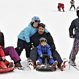 Those Gorgeous Annual Ski Trips With the Whole Family