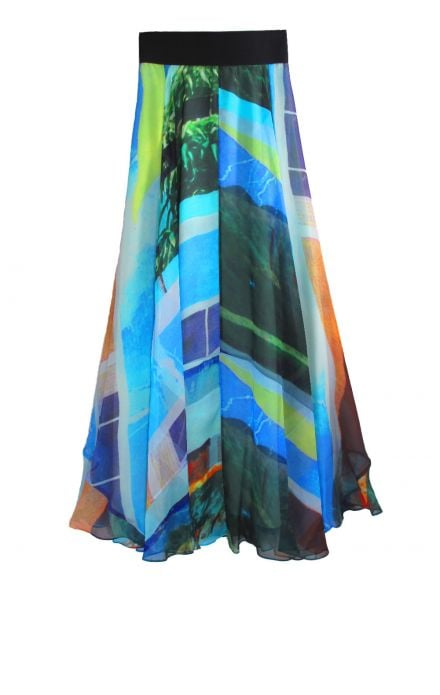 This Rag & Bone Bequia Maxi Skirt ($495) is an ideal option for Summer concerts.