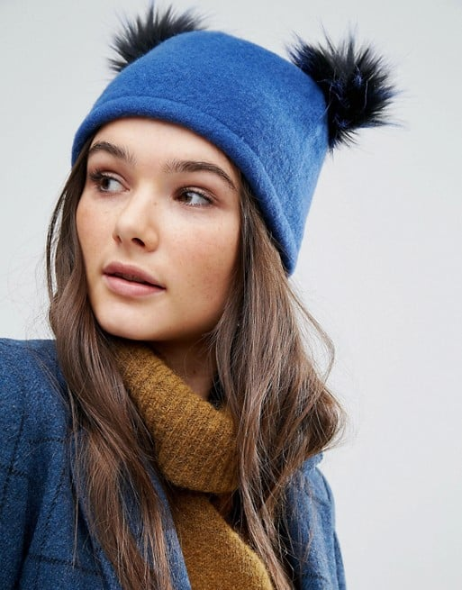 A wool or cashmere beanie