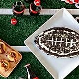 Oreo Football Cake