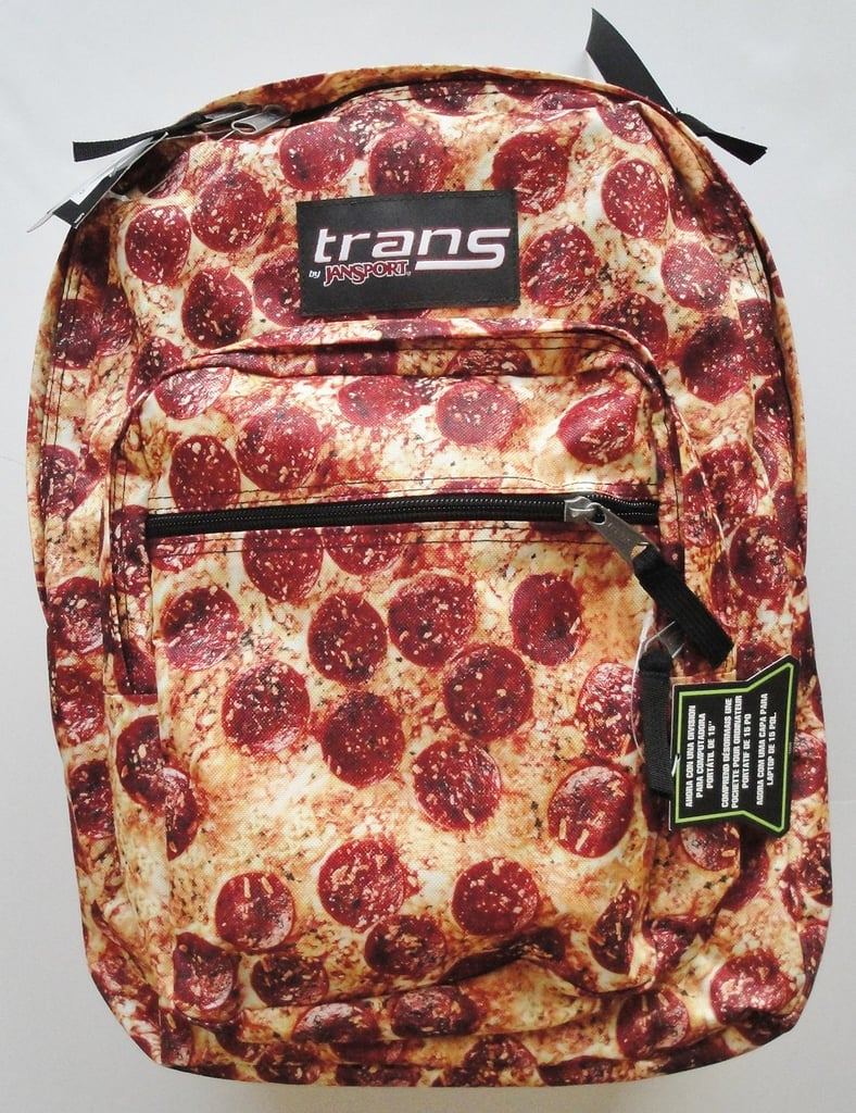 Pepperoni Pizza Backpack