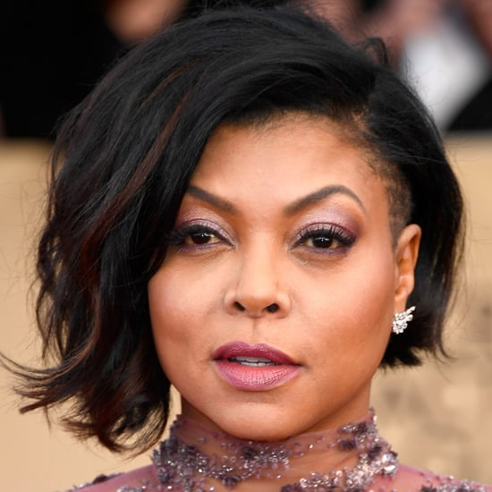 Taraji P. Henson's Hair and Makeup at the 2017 SAG Awards