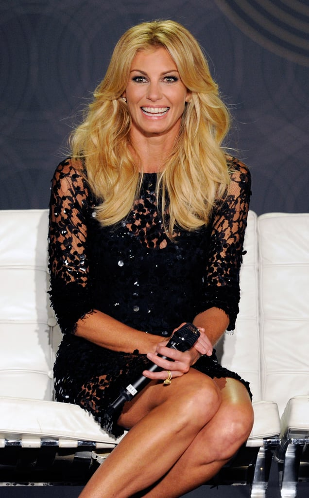 Faith Hill laughed.