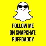 Diddy: puffdaddy