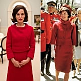 Natalie Portman Wearing Jackie's Canada State Visit Suit