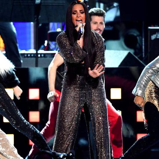 Demi Lovato's Performance Dress at 2017 Grammys