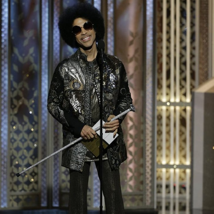 Even Celebrities Were Fangirling Over Prince at the Golden Globes