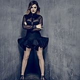These days, we could 100 percent picture Lucy Hale raiding Aria's closet.