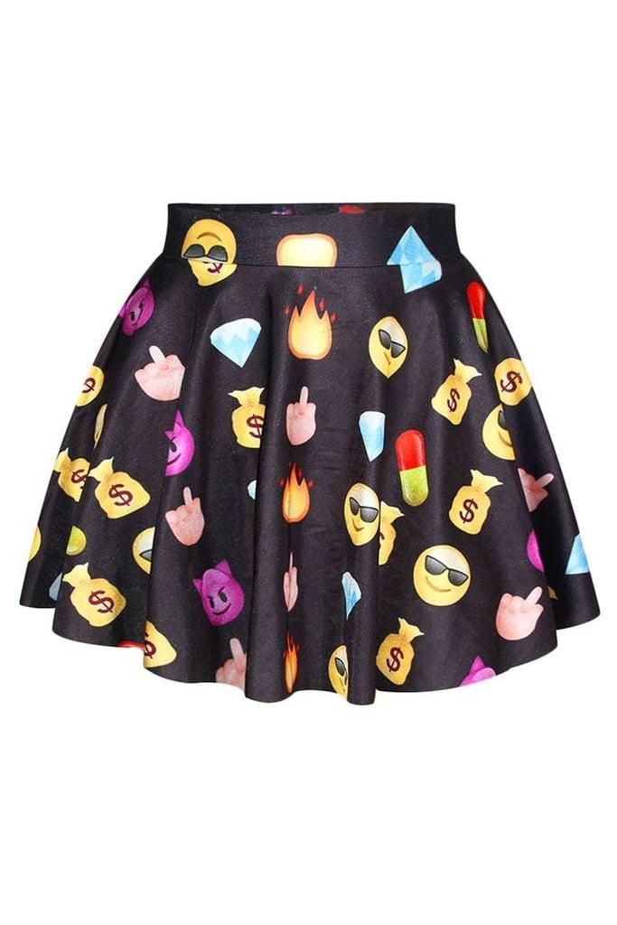 Emoji skater skirt ($14, originally $20)