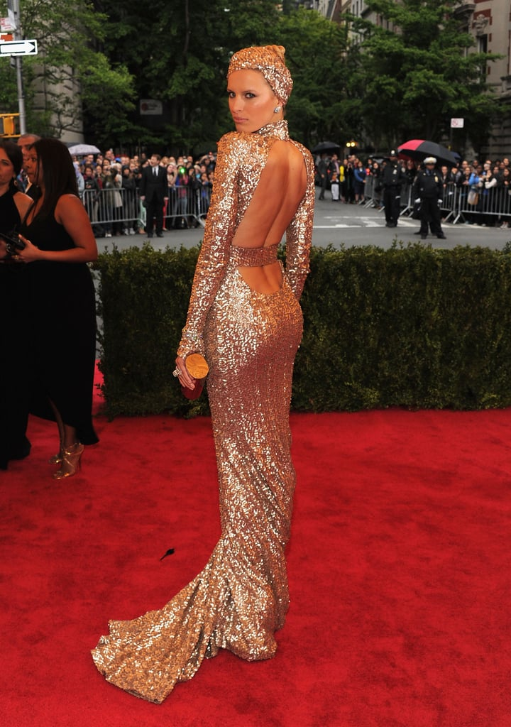 Karolina Kurkova in Custom Rachel Zoe Collection