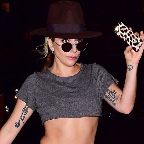 Lady Gaga Wearing Shorts in NYC September 2016