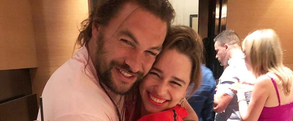 Emilia Clarke and Jason Momoa Reunion Photos July 2019