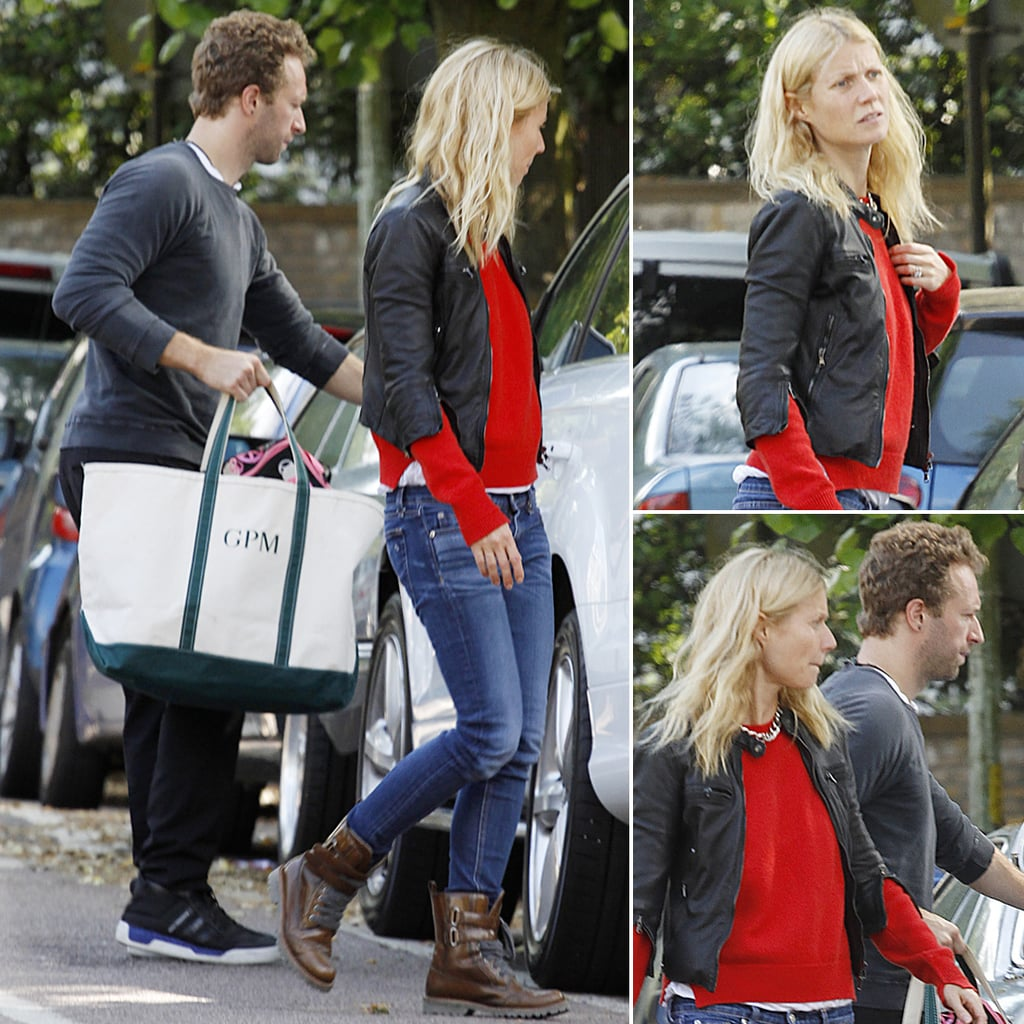 Gwyneth Paltrow and Chris Martin Together in London Photos
