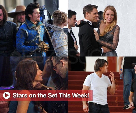 Pictures of Tom Cruise, Orlando Bloom and More on Set