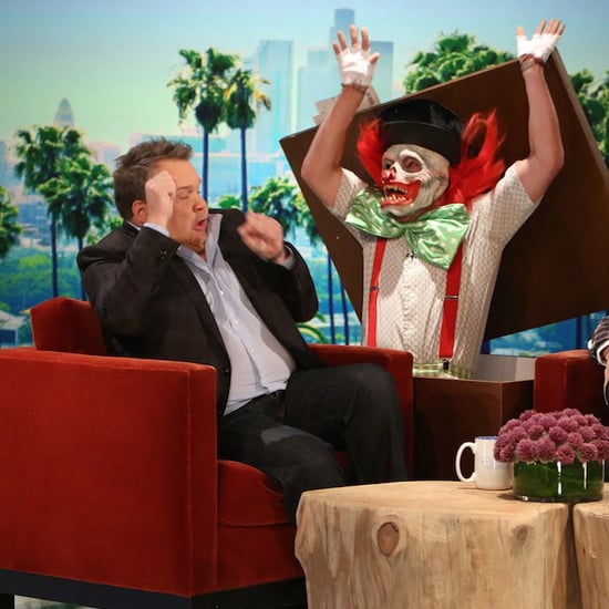 Eric Stonestreet Getting Scared on The Ellen DeGeneres Show
